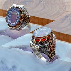 Ala Serisi-Endülüs Model Özel Tasarım Gümüş Yüzük