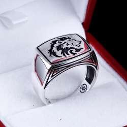 Aslanlı Tasarım 925 Ayar Gümüş Yüzük