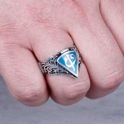 Elif Vav 925 Ayar Gümüş Yüzük