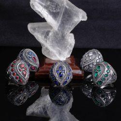 Kalemkar Sanatı Gümüş Sultan Yüzüğü