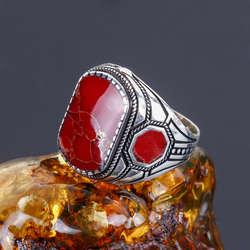 Kızıl Tasarım 925 Ayar Gümüş Yüzük