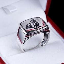 Tuğra Tasarım 925 Ayar Gümüş Yüzük