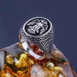 Selçuklu Kartalı 925 Ayar Gümüş Yüzük