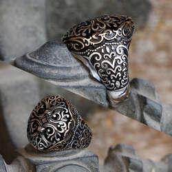 Selçuklu Tasarım 925 Ayar Gümüş Yüzük