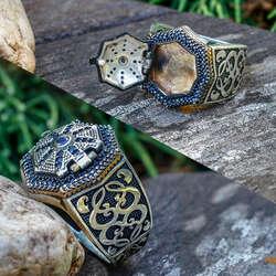 Sır Serisi-Kapaklı Tasarım 925 Ayar Gümüş Yüzük