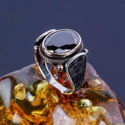 Taşlı Tasarım 925 Ayar Gümüş Yüzük