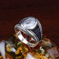 Yemen Akiği 925 Ayar Gümüş Yüzük